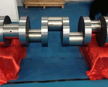 QWS2500 frac pump forged crankshaft