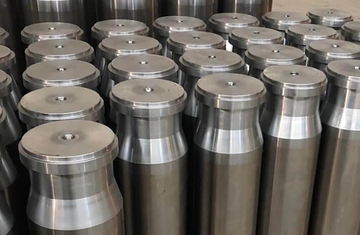 Tungsten carbide plungers