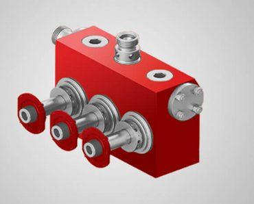 TWS600 fluid end assembly