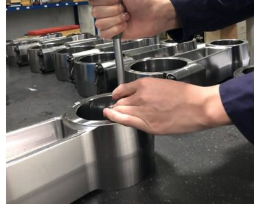 TWS600 power end connecting rods inspection