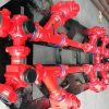 Oil and gas manifold skid