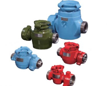 FMC style plug valves in various specifications