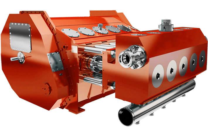 QWS2500 frac pump