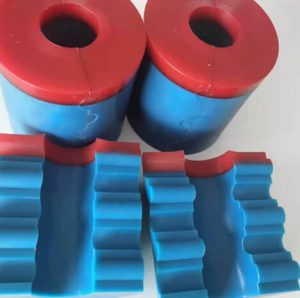 Coil tubing stripper packoff rubber