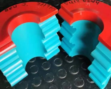 Coil tubing stripper rubber seal