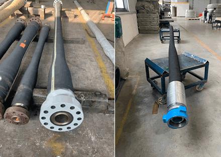 Frac hose fittings